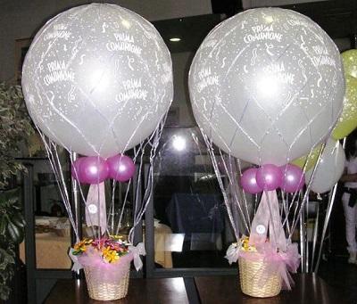 mongolfiere per feste compleanno